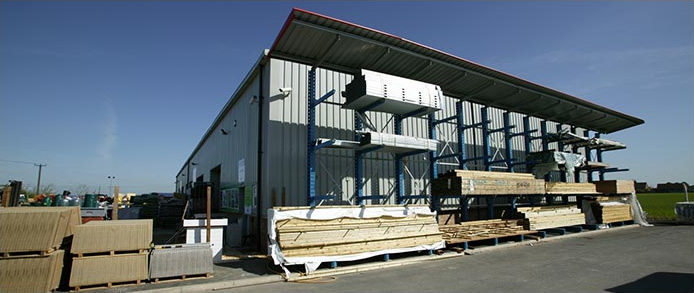 Kestrel Timber Frame's Production Facility